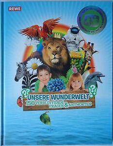 Rewe Collectible Album Unsere Wunderwelt Complete 180 Sticker