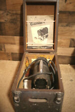 International Register Co. K-11 Cutawl Tool w/Wooden Box, Manual, and Tools