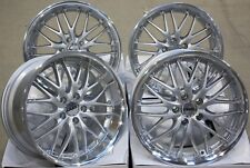 "18"" SILVER 190 ALLOY WHEELS FITS BMW E34 E39 E60 E61 E63 E64 5 6 7 8 M12B"
