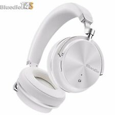 Bluedio T4S Bluetooth 4.2 Cordless Headphones Stereo ANC Wireless Headset, White