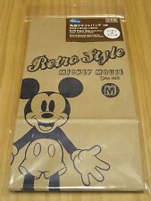 Disney Mickey & Minnie Mouse Paper Bag x5 & Stickers,Cute Gift Bag,Made in Japan