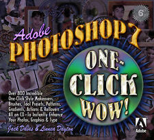 Adobe(R) Photoshop(R) 7 One Click Wow! (WOW!)-ExLibrary