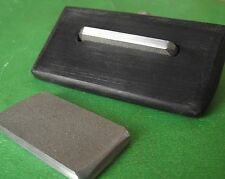 Miniature Fret End Bevel Diamond File, 90&35 degrees 2 grits. Luthier Tool TF027