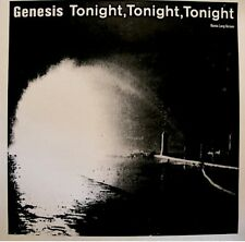 ++GENESIS tonight tonight/in the glow of the night REMIX MAXI PROMO 1987 VG++