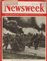 1942 Newsweek June 8;All-Negro shipyard;John Barrymore;Normandie;Fight for Libya