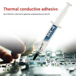 MX-4 Thermal Compound Paste, 4G Syringe, 4 grams, 2020 Edition Quality
