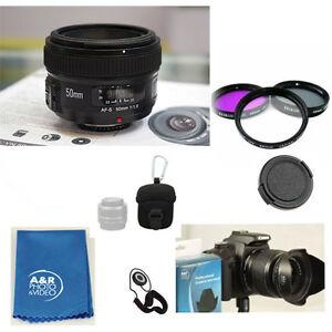 YONGNUO YN50mm F1.8 50mm lens kit for Nikon D5600 D7500 D3400 D5500 D5300 D3300
