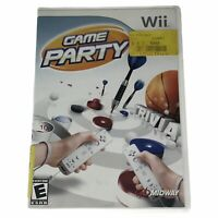 Game Party (Wii, 2007) Complete w/Manual Tested Works