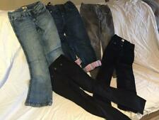 5 Pair Girls' Pants Jeans - Winter Fall - Gap, Ll Bean, Antik Denim Sz 7/8 Euc
