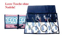 KP10735-M Knit Pro Jacquard Wrap Around Fabric Knitting Pin Case