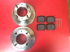 "NEW CLASSIC MINI BRAKE DISCS AND PADS 7.5"" GBD101 KIT PAIR EARLY 1275 COOPER S"