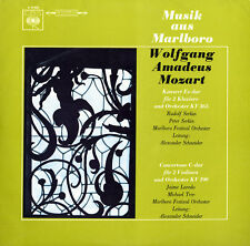 MOZART Concerto for 2 Pianos K.365 Concertone for 2 Violins K.190 SERKIN LAREDO