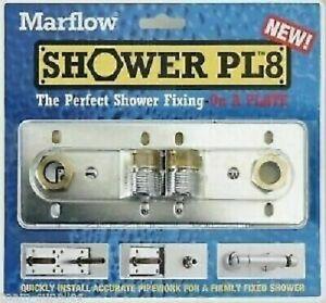 ORIGNAL SHOWER PL8 EXPOSED BAR SHOWER VALVE FIXING FITTING KIT 150mm FAST PLATE
