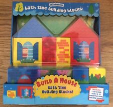 Bath Time Build a House Building Blocks x17 pieces Educational Toy Meadow Kids