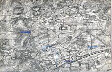 55 Maucourt Fromezey Abaucourt 1906 pt. carte/lin (partie) Douaumont Gincrey
