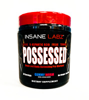 Insane Labz POSSESSED Pre-Workout Strength Stamina Focus 30 Servings PICK FLAVOR