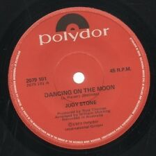 """JUDY STONE   Rare 1977 Aust Only 7"""" OOP Polydor Pop Single """"Dancing On The Moon"""""""
