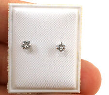 .925 Sterling Silver Earrings Star for Kids Toddlers Children Baby Screw back