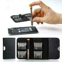 25 in1 Screwdriver Set Opening Repair Tools Kit For Mobile F6Y5 Phone G1P2