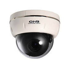 CNB DBF-44VF 960H 700 TVL Varifocal 16x Digital Zoom Dome Security Camera, White