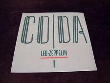 """LED ZEPPELIN """"CODA"""" LP GATEFOLD 1ST GERMAN PRESS SEALED SWAN SONG '82 ROCK BLUES"""