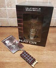 Loot Crate Terminator Genisys Half Scale Endo Skull & brain chip replica