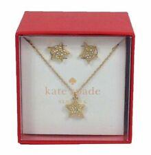Kate Spade Twinkle Twinkle Boxed Stud & Pendant Necklace Set Ooru1211