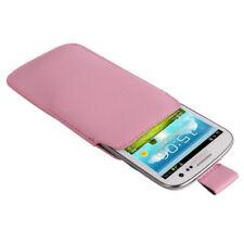 Etui mit AUSZIEHHILFE für Samsung i9300 Galaxy S3 in rosa Tasche Case Hülle