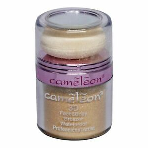 Cameleon 3D Face and Body Waterproof Bronzer 10g Golden free shipping UK