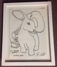 Rufus Wainwright * Signed Drawing *