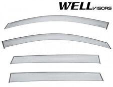 WellVisors For 09-17 Chevrolet Traverse PREMIUM SERIES Window Visors Deflectors