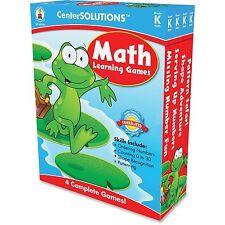 Carson-Dellosa Math Learning Board Games Gr-k Multi 140050