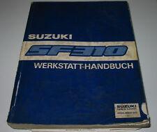 Werkstatthandbuch Suzuki Swift SF 310 Typ EA Motor Klima Getriebe Kupplung 1991!