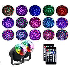LED Magic Ball Stage Light Club RGB Rotating Disco Party DJ Decor Remote UK