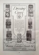 1920 AD(H3)~WARREN LEATHER GOODS CO. WORCESTER, MASS. DRESSING CASES