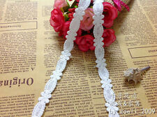 White small flower lace trim / ribbon with amazing design - price for 1 yard
