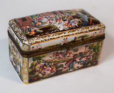 Capodimonte Hand Painted Box