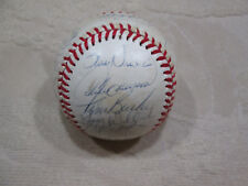 VINTAGE 1985 MONTREAL EXPOS TEAM SIGNED BASEBALL 28 AUTOS ANDRE DAWSON MORE