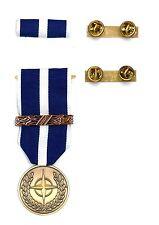 Medaglia e/o Nastrino Missione Nato Kosovo + Supporto a Clip