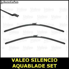 Front Wiper Blade Set Pair FOR VOLVO XC60 UK ONLY 2.0 17->ON CHOICE2/2 Valeo