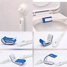 Portable Toilet Brush Plastic Long Handle Scrub Cleaning Brush Gadget O3