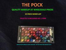 THE POCK - 25PC WHOLESALE MIXED MAKE UP LOT W/PALETTE REVLON NYX WET N WILD NEW