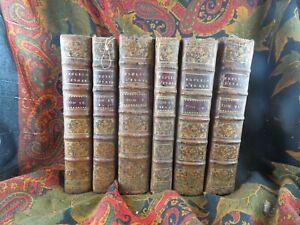 livre ancien 6 volumes religieux explication de la prophetie d isaie 1734
