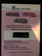 Neptunia Re;Birth 1-3 Bundle PC Steam Digital Code