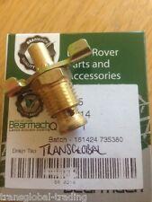 Land Rover Series 2 & 3 Cylinder Block & Radiator Drain Tap - Bearmach - BR 0214