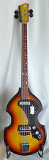 Vintage Electric Guitar Bass ODESSA  Soviet Ukraina USSR instrument 1977