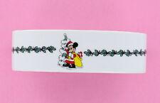 Disney Mickey Mouse Christmas Soap Dish - Merry Christmas, Santa Mickey, Holly,