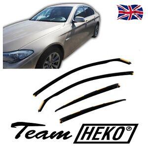 HEKO TINTED WIND DEFLECTORS for BMW 5 SERIES F10 4 DOOR SALOON 2010-2016 4pc