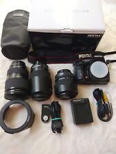 Big Kit of Pentax K-5 Ii Dslr Camera with lens Da18-135mm plus two other lenses