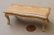 1:12 tabla de mesa de café de madera casa de muñecas en miniatura Muebles Accesorio 1526